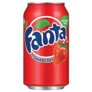 Fanta Strawberry Soda Fragola