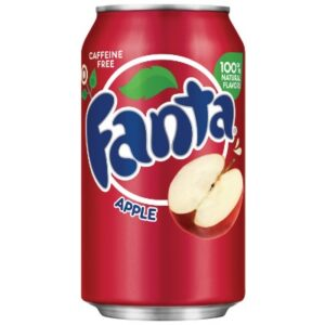Fanta Apple Soda Alla Mela