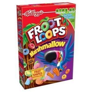Kellogg's Froot Loops Cereali Con Marshmallows