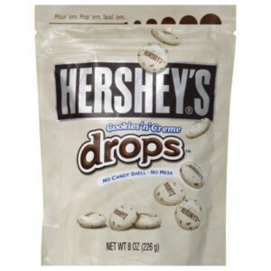 Hershey's Cookies N Creme Drops Sacchetto 226g