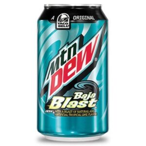 Mountain Dew Soda Baja Blast