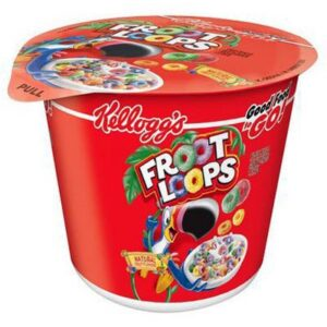 Kellogg's Froot Loops Cereali Porzione Individuale