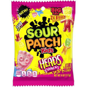 Sour Patch Kids Heads Caramelle 2 In 1